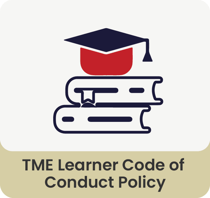 TME Learner Code Of Conduct policy